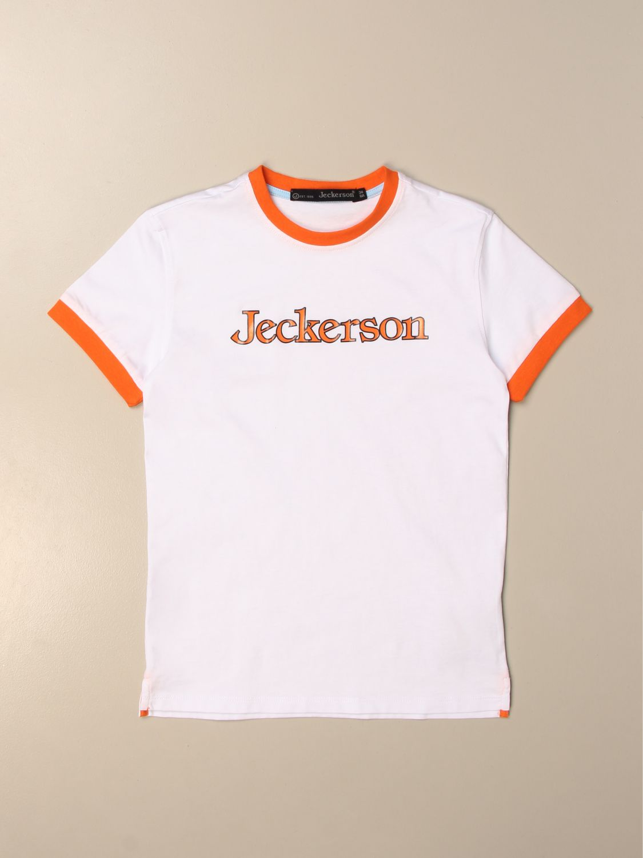 T-shirt Jeckerson: T-shirt kids Jeckerson white 1
