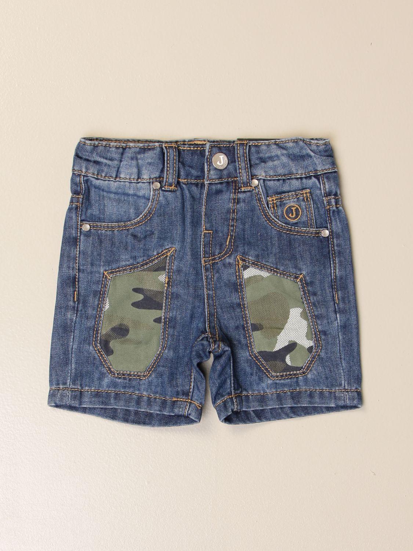 Pantaloncini Jeckerson: Pantaloncino di jeans Jeckerson con toppe camu denim 1