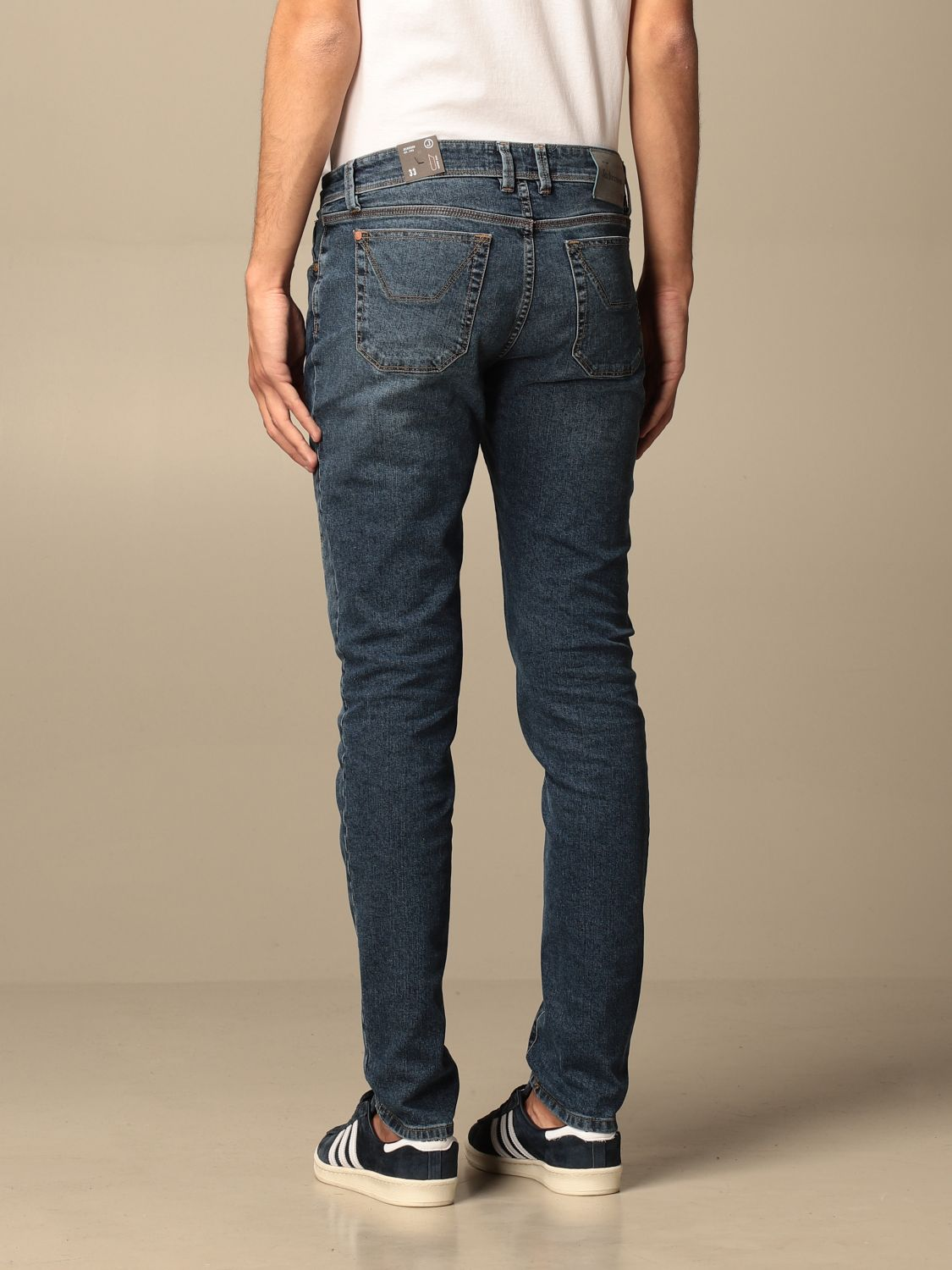 Jeans Jeckerson: Jeckerson stretch jeans with patches denim 2