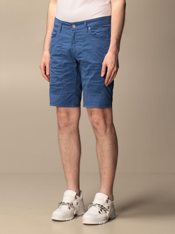 Short Jeckerson: Short men Jeckerson royal blue 3