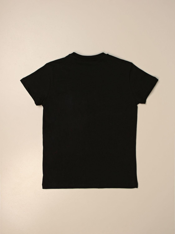 Camiseta Msgm Kids: Camiseta niños Msgm Kids negro 2