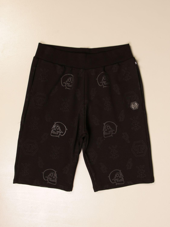短裤 Philipp Plein: 短裤 儿童 Philipp Plein 黑色 1