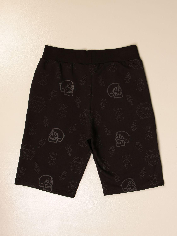 短裤 Philipp Plein: 短裤 儿童 Philipp Plein 黑色 2