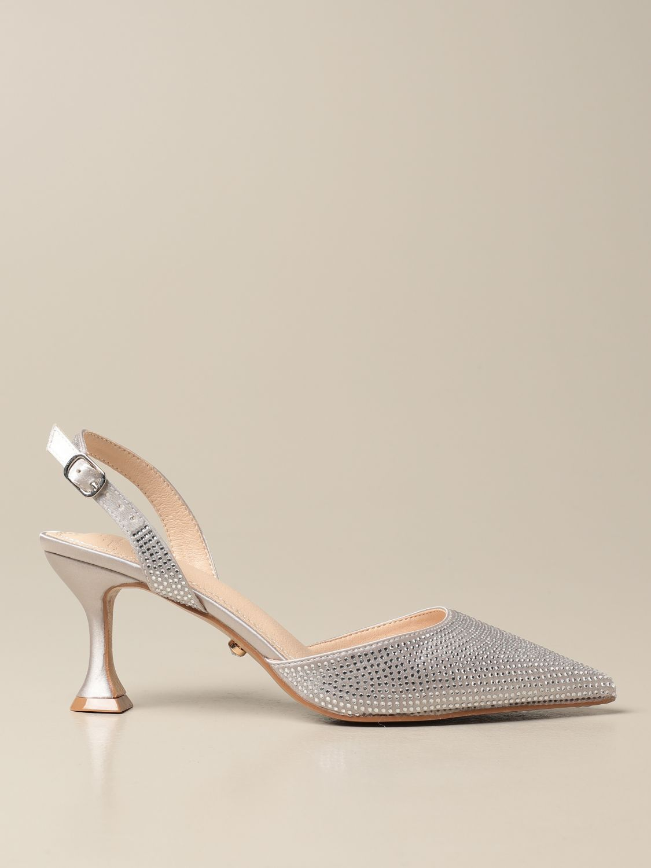 High heel shoes Twenty Fourhaitch: Shoes women Twenty Fourhaitch silver 1