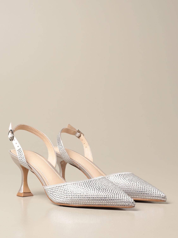 High heel shoes Twenty Fourhaitch: Shoes women Twenty Fourhaitch silver 2
