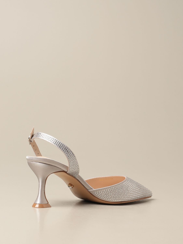 High heel shoes Twenty Fourhaitch: Shoes women Twenty Fourhaitch silver 3