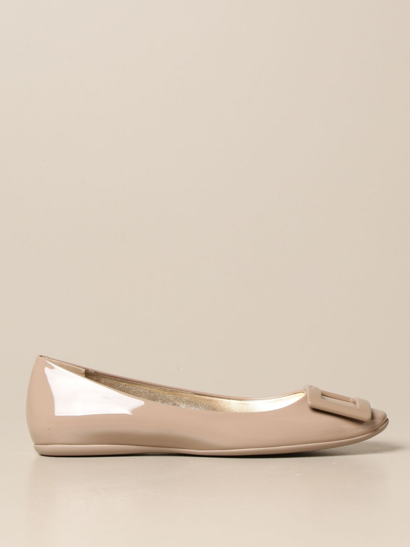 Manoletinas Roger Vivier: Zapatos mujer Roger Vivier tórtola 1