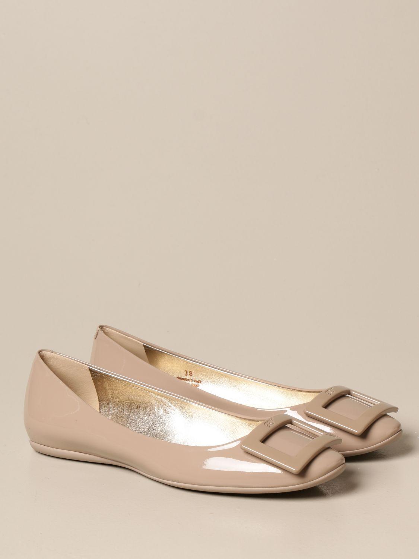 Manoletinas Roger Vivier: Zapatos mujer Roger Vivier tórtola 2