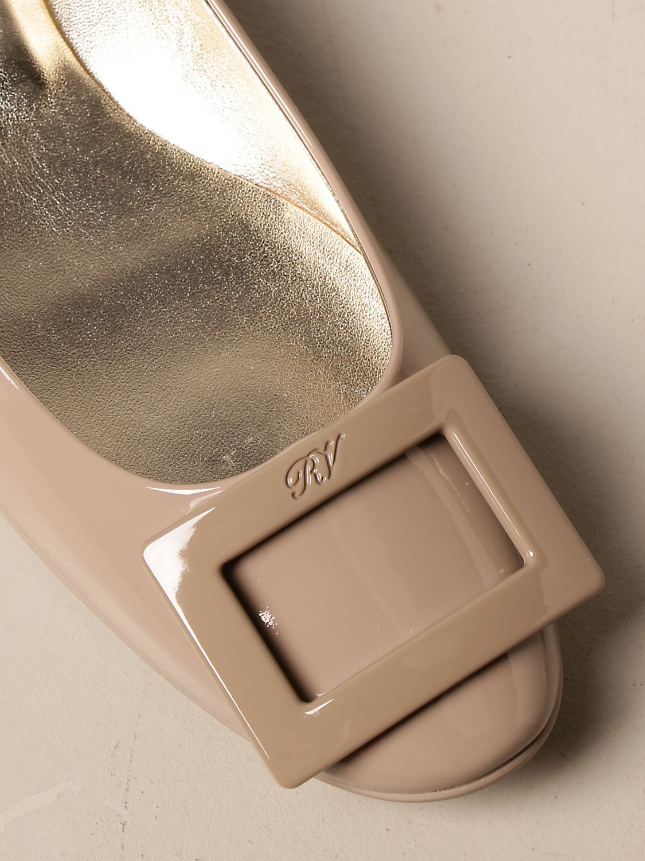 Manoletinas Roger Vivier: Zapatos mujer Roger Vivier tórtola 4