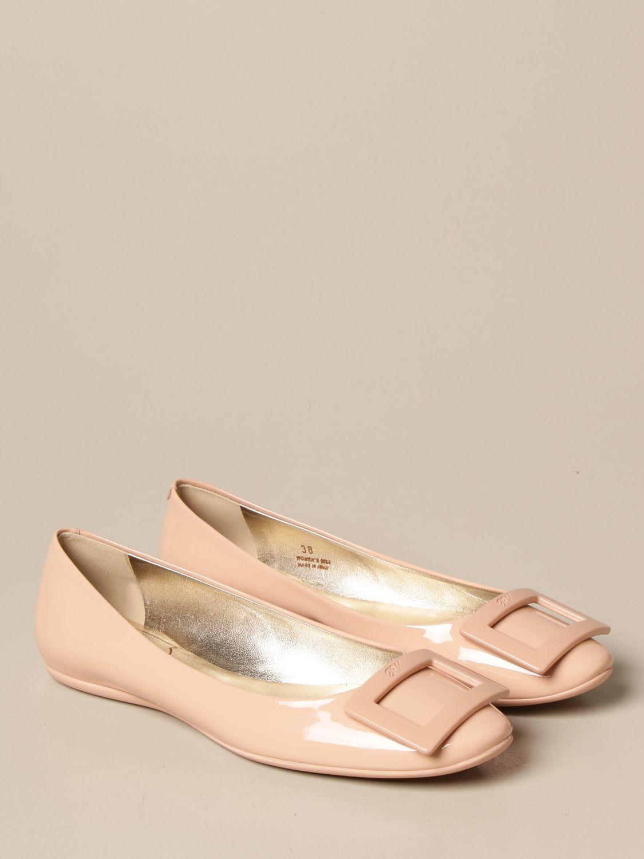 балетки Roger Vivier: Обувь Женское Roger Vivier нюд 2