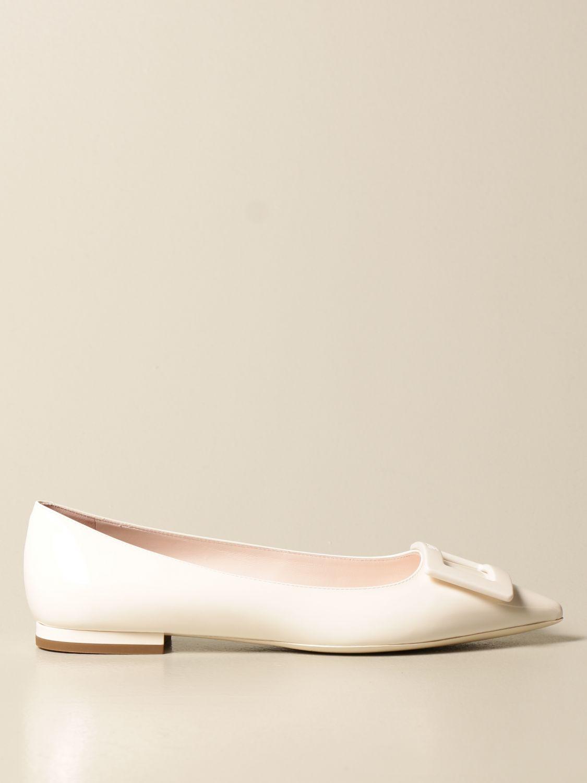 балетки Roger Vivier: Обувь Женское Roger Vivier белый 1