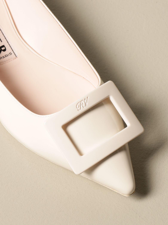 балетки Roger Vivier: Обувь Женское Roger Vivier белый 4