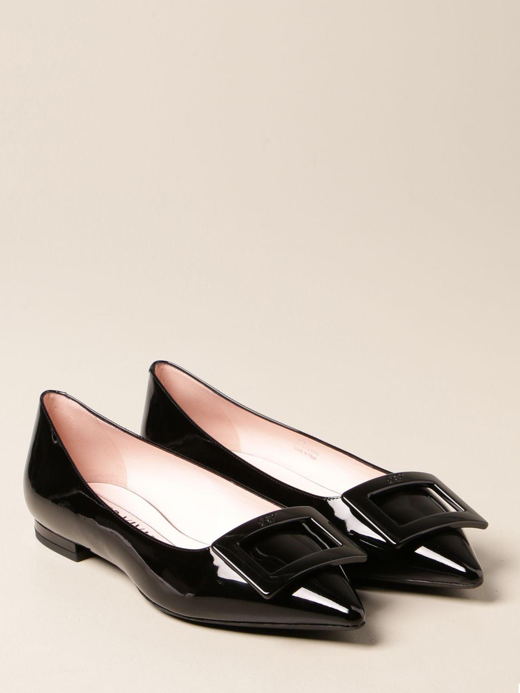 балетки Roger Vivier: Обувь Женское Roger Vivier черный 2