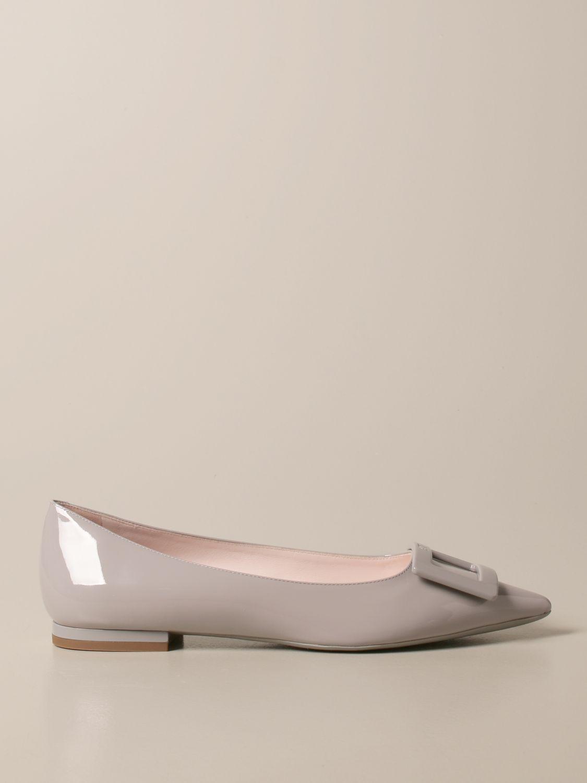 балетки Roger Vivier: Обувь Женское Roger Vivier пыльно-серый 1