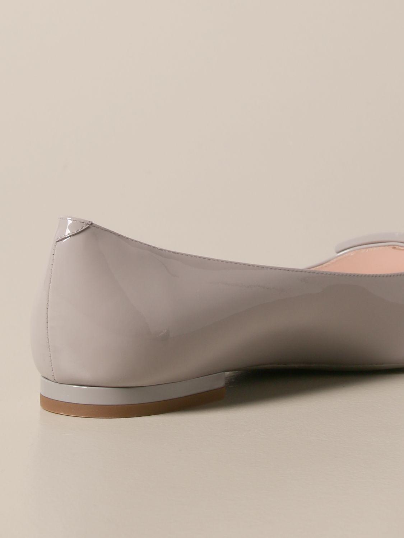 балетки Roger Vivier: Обувь Женское Roger Vivier пыльно-серый 3