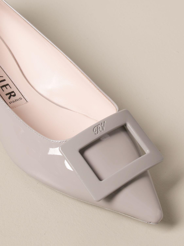 балетки Roger Vivier: Обувь Женское Roger Vivier пыльно-серый 4
