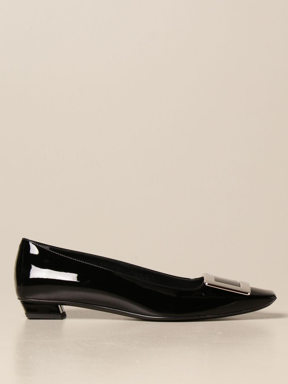 балетки Roger Vivier: Обувь Женское Roger Vivier черный 1