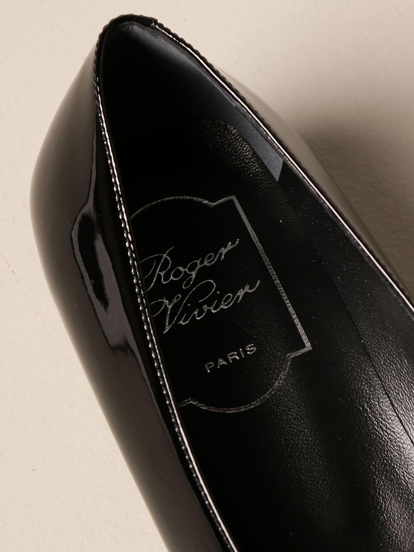 балетки Roger Vivier: Обувь Женское Roger Vivier черный 4