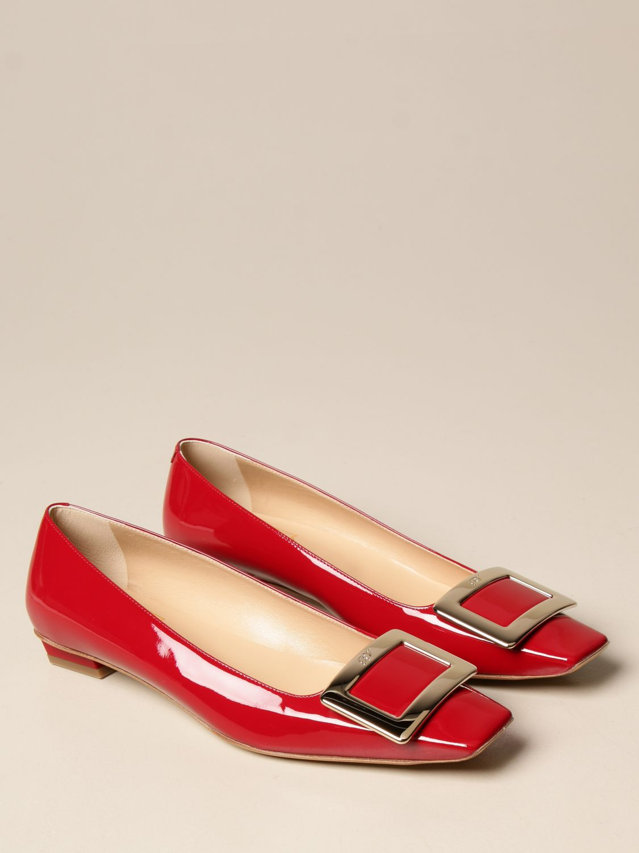 Manoletinas Roger Vivier: Zapatos mujer Roger Vivier rojo 2