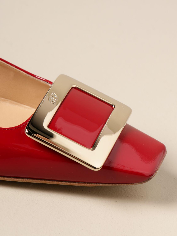 Manoletinas Roger Vivier: Zapatos mujer Roger Vivier rojo 4