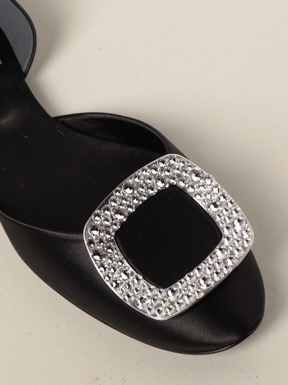 Manoletinas Roger Vivier: Zapatos mujer Roger Vivier negro 4