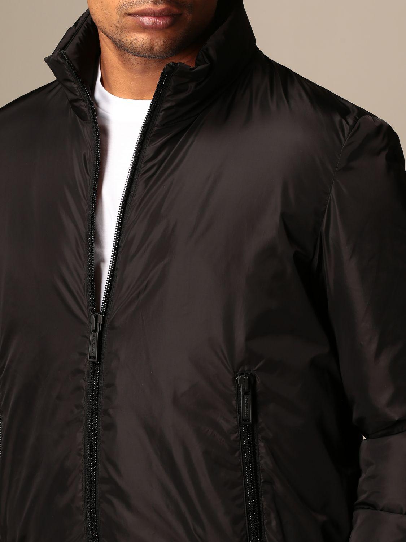 Jacket Dsquared2: Icon Dsquared2 nylon bomber jacket with logo black 4