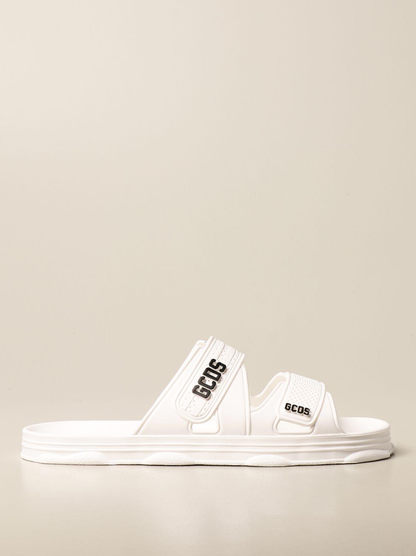 Sandalen Gcds: Schuhe herren Gcds weiß 1