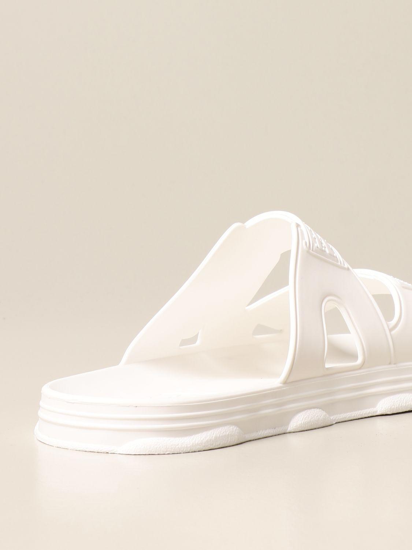 Sandalen Gcds: Schuhe herren Gcds weiß 3
