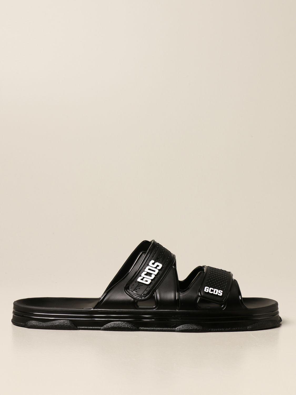 Sandals Gcds: Gcds sandal in pvc with logo black 1