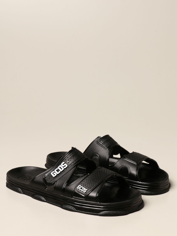 Sandals Gcds: Gcds sandal in pvc with logo black 2