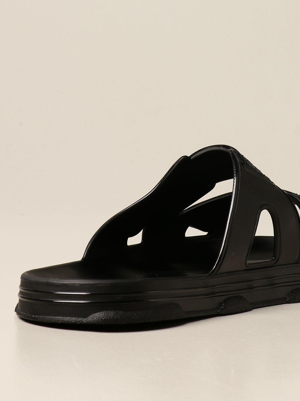 Sandals Gcds: Gcds sandal in pvc with logo black 3