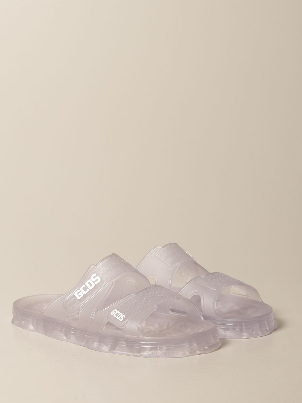 Sandali Gcds: Sandalo Gcds in pvc con logo trasparente 2