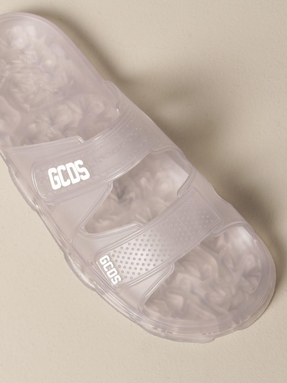 Sandali Gcds: Sandalo Gcds in pvc con logo trasparente 4