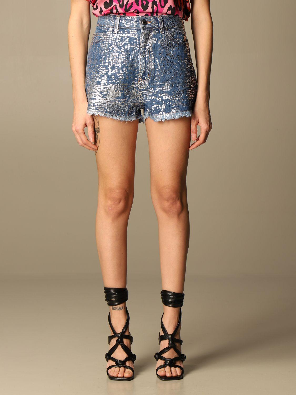 Pantalones cortos Just Cavalli: Pantalones cortos mujer Just Cavalli denim 1