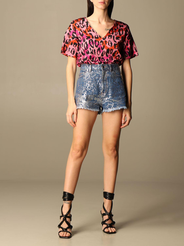 Pantalones cortos Just Cavalli: Pantalones cortos mujer Just Cavalli denim 2