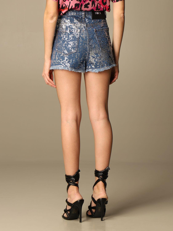 Pantalones cortos Just Cavalli: Pantalones cortos mujer Just Cavalli denim 3