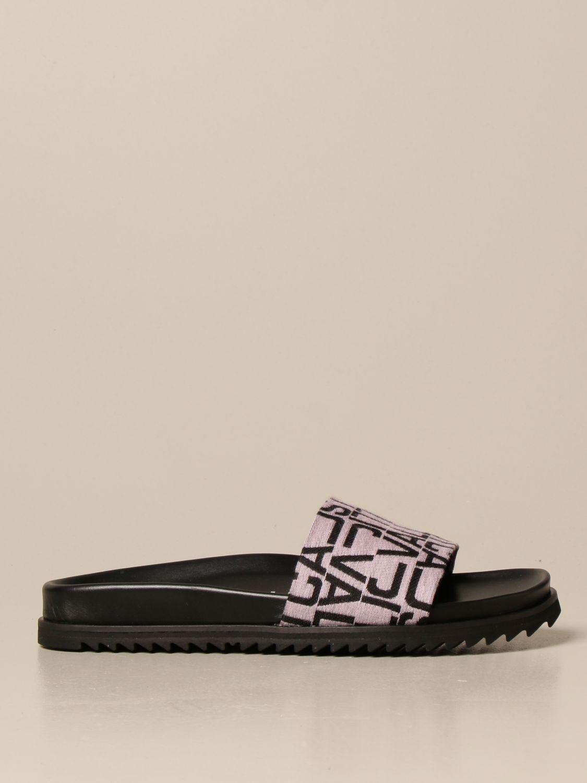 Flache Sandalen Just Cavalli: Schuhe damen Just Cavalli grau 1