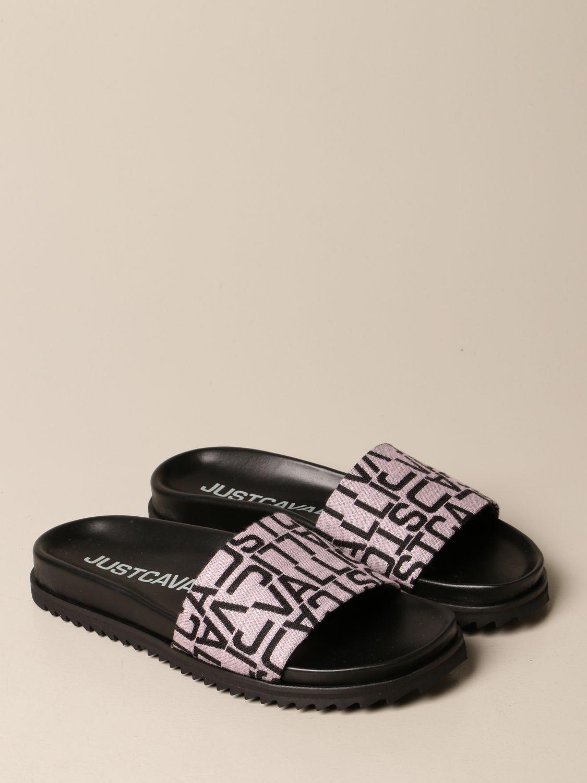 Flache Sandalen Just Cavalli: Schuhe damen Just Cavalli grau 2