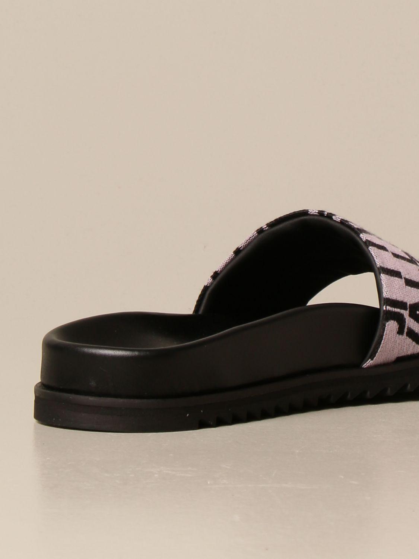 Flache Sandalen Just Cavalli: Schuhe damen Just Cavalli grau 3