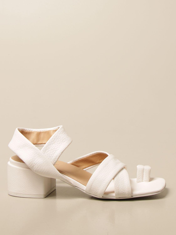 Sandalen mit Absatz Marsell: Schuhe damen Marsell weiß 1