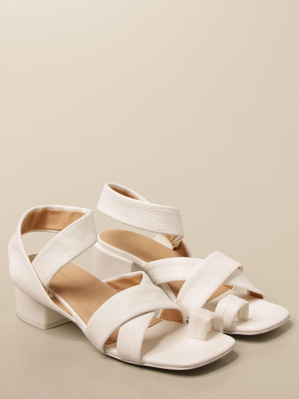 Sandalen mit Absatz Marsell: Schuhe damen Marsell weiß 2