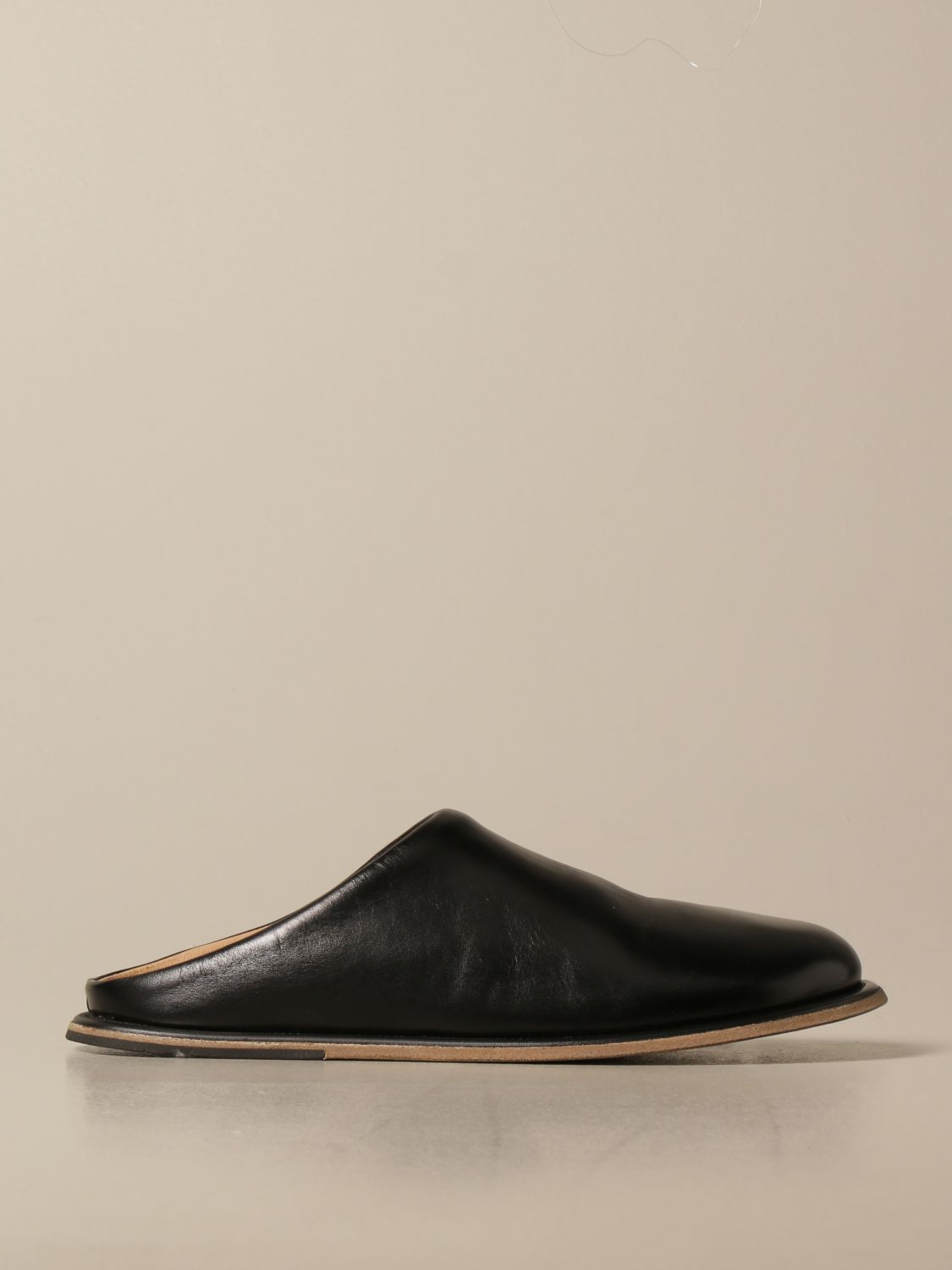 Shoes Marsell: Marsèll Guardella sabot in horse leather black 1