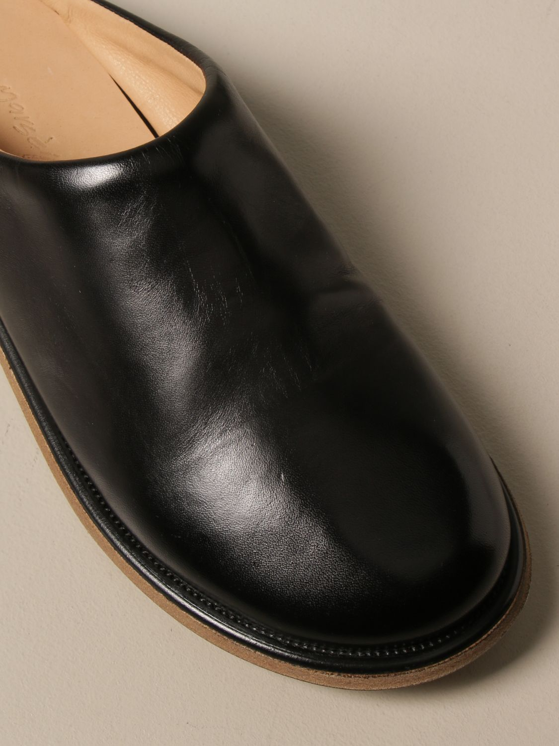 Shoes Marsell: Marsèll Guardella sabot in horse leather black 4