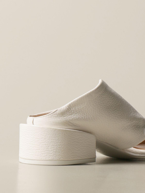 Sandalen mit Absatz Marsell: Schuhe damen Marsell weiß 3