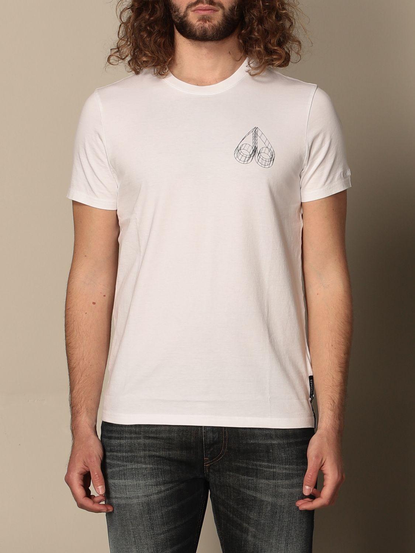 T-Shirt Moose Knuckles: T-shirt herren Moose Knuckles weiß 1