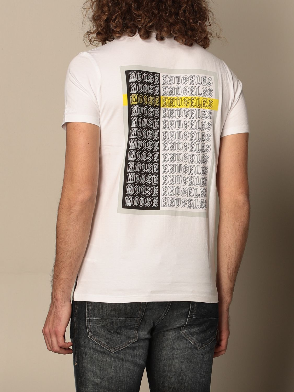 T-Shirt Moose Knuckles: T-shirt herren Moose Knuckles weiß 2