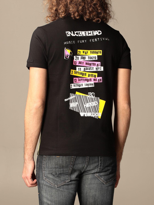 T-Shirt Moose Knuckles: T-shirt herren Moose Knuckles schwarz 2