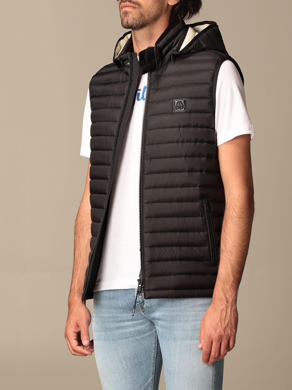Weste Moose Knuckles: Pullover herren Moose Knuckles schwarz 3