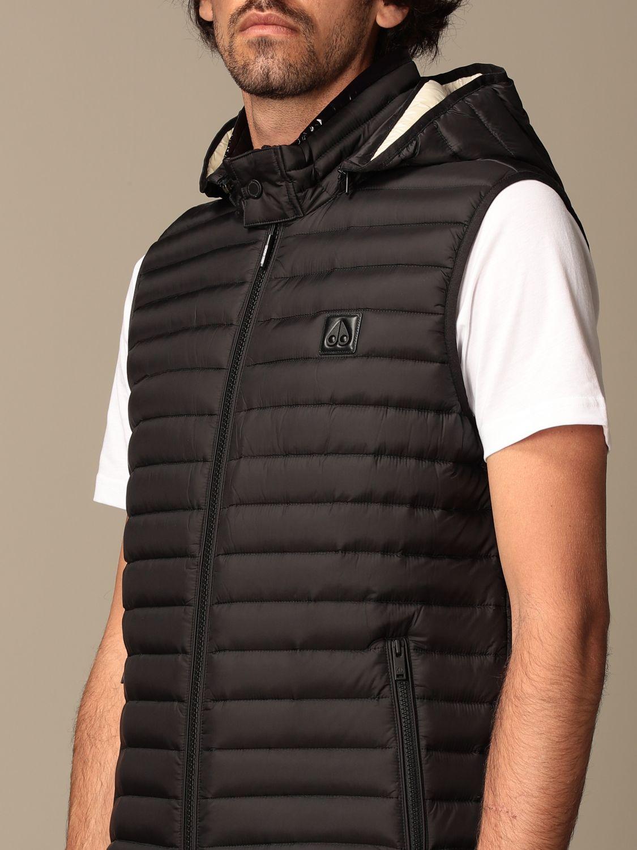 Weste Moose Knuckles: Pullover herren Moose Knuckles schwarz 4