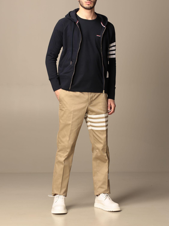 Trousers Thom Browne: Trousers men Thom Browne beige 2